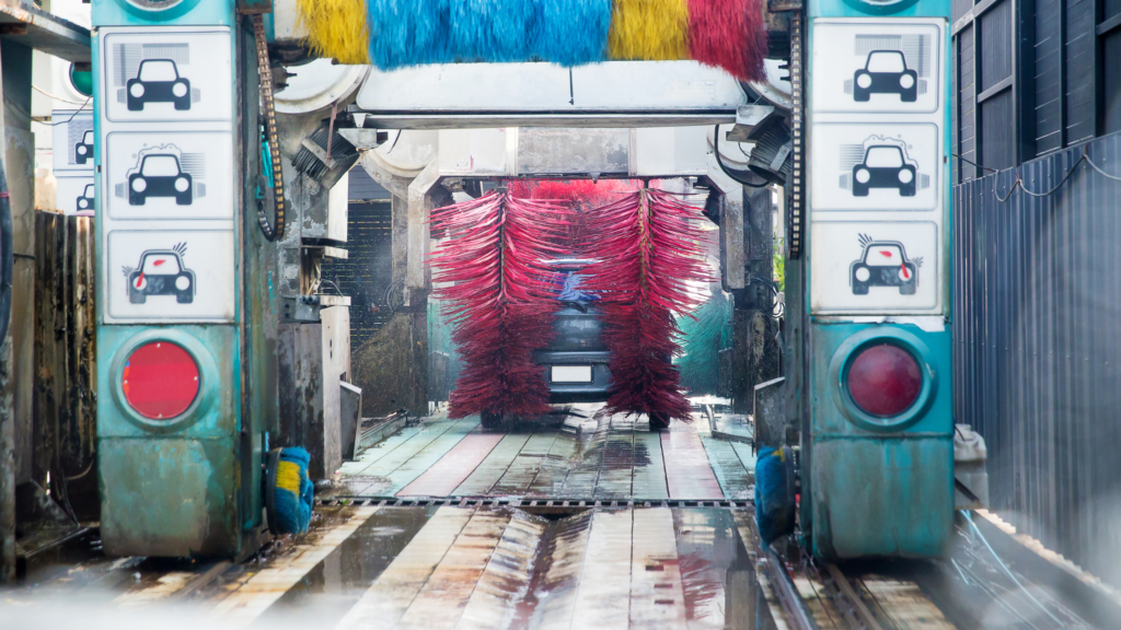 The Different Types of Automated Car Washes